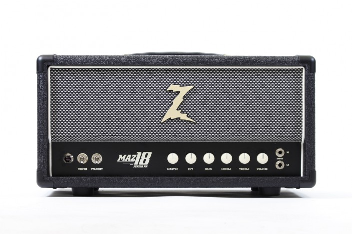 MAZ 18 NR head, black/sp