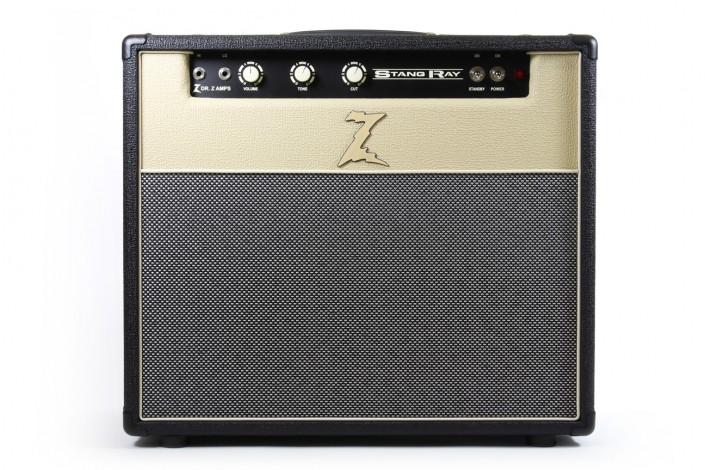 Stang Ray combo, black/blonde/sp